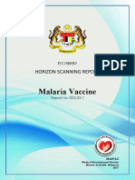 Vaccine malaria