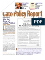 Sad State of Cyber Politics (Cato Policy Report)
