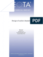 Eota Tr 047 Design of Anchor Channels 2018 03