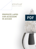 Catalogo Proposte Lapidi Acciaio