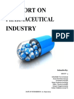 Industry Report Final Pharmaceuticals Group 4 Section C
