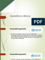 Genetica Clinica Curs Optional