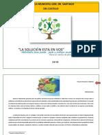 Proyecto Educativo sobre Educación Ambiental