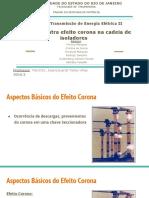 Protecao Contra Efeito Corona Na Cadeia de Isoladores Grupo 3