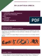 Deportes en La Antigua Grecia