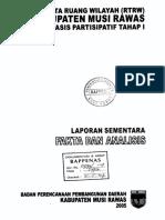 Rencana Tata Ruang Wilayah