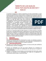 TRATAMIENTO DE LOS SUELOS CONTAMINADOS POR ACEITE DE MOTOR Y RON 91 FOSA3.docx