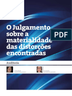 Auditoria - Materialidade e Distorções