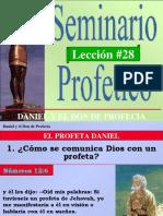 SEMINARIO PROFÉTICO - LECCIÓN 28