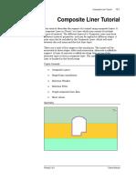 composite liner rocscience