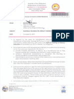 Regional Memorandum No. 822 s.2019 2