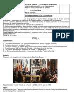 Examen Historia de España de La Comunidad de Madrid (Ordinaria de 2019) [Www.examenesdepau.com]