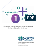 2nd annual udl conference program 11