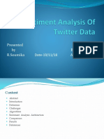 Sentiment Analysis of Twitter Data My Ppt