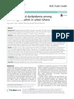 lipid profile  in children