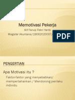 PPT - MOTIVASI