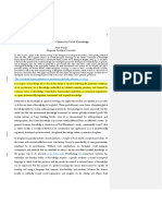A Missed Cognitive Chance for Social Knowledge.docx