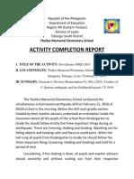 Acr on 1st Quarter 2019 Earthquake Drill
