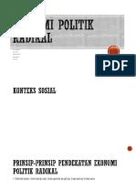Ekonomi politik radikal