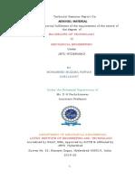 Aerogel Seminar Report Final Converted