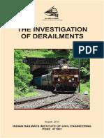 Investigations of Derailments 2015