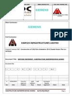 Method of statement for waterproofing