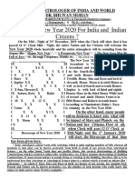 How New Year 2020 For India And Indian Citizens By DR.  BHUWAN MOHAN ?