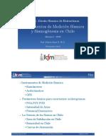 Registros y Sismicidad Chilena Diseño Sismico de Estructuras
