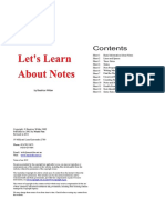 About Notes