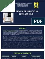 Redaccion Proceso de Publicacion