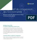 FR Comparatif Windows Server 2008R2 vs 2012R2 vs 2016