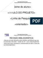 Modelo de Apresentação para dissertação