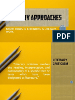Literary Critical Theories PDF VERSION