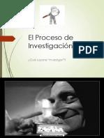 5_el Proceso de Investigación