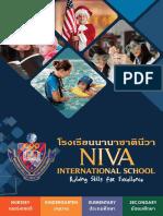 NIVA International School Prospectus