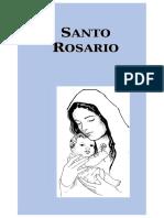 Santo Rosario [Tamaño Carta]