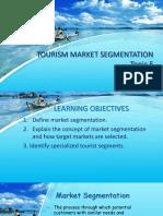 tourist segmentation