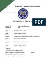 Chemistry elective