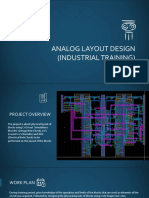 Analog Layout Design (Industrial Training)