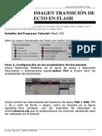 Practica Rollo de Imagen Transición de Efecto en Flash