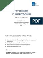 2. Forecasting 2019 S2