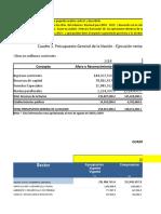 Taller Sobre Cifras Fiscales Del Gobierno Nacional Central 2018-2019