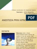 Anestezia Prin Hipnoza