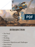 Robots in warfare