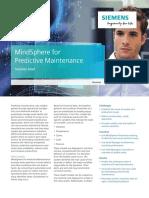 Siemens Mindsphere Brochure