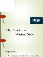 1 Eapp (the Academic Writing Styles)