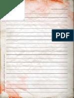 Shotgun Diaries Matriz de Diário Cores