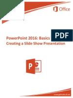 2016 PowerPoint Basics