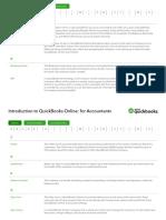 QuickBooks Intro Course Glossary