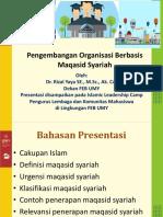 1e- Pengembangan Organisasi Berbasis Maqasid Syariah- Indonesia